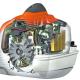 FS560 C-EM Triturar 320-2 Desbrozadora Stihl Motor Gasolina