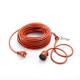 VV25 Cable Eléctrico para exterior 25m 1,5mm² Outils Wolf