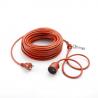 Cable Eléctrico sobremoldeado 25m 3hilos 1,5mm² Outils Wolf