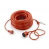 Cable Eléctrico sobremoldeado 50m 3hilos 1,5mm² Outils Wolf