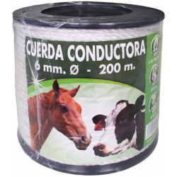 Cordon nylon 6mm. 200 metros ---- 37