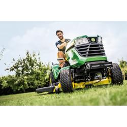 X590 Tractor Cortacésped Mulching John Deere 137cm de Corte