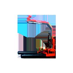 Encintadora Suspendida para tractor Diametro Bola 1,2-1,4m