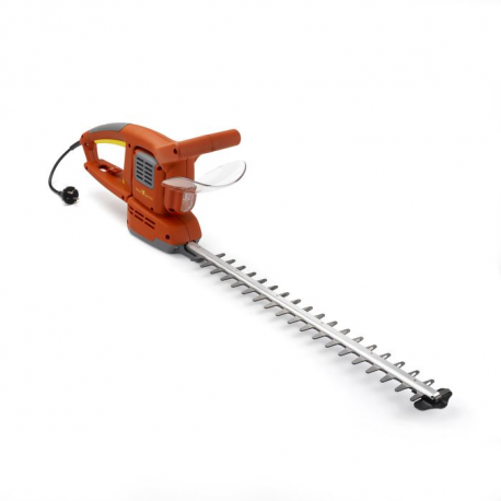 Cortasetos eléctrico cuchilla 55 cm, 500W agarre giratorio