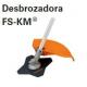 FS-KM Punta desbrozadora + Cuchilla Cortahierbas Multifunció