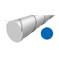 Hilo corte redondo silencioso de Nylon Azul Ø 1,6 mm x 19 m