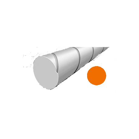 Hilo corte redondo silencioso de Nylon Naranja Ø2,4mm x 41 m