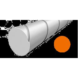 Hilo corte redondo silencioso de Nylon Naranja Ø2,4 mm x83 m