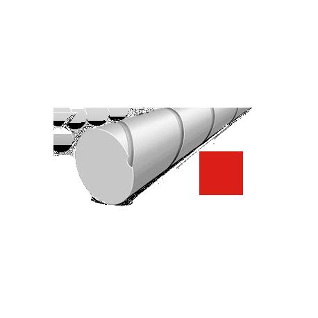 Hilo corte redondo silencioso de Nylon Rojo Ø 2,7 mm x 208 m