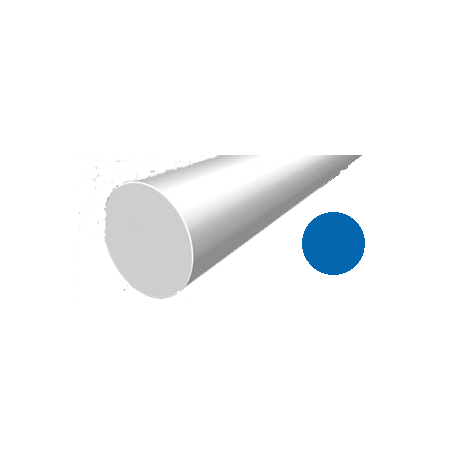 Hilo corte redondo de Nylon Azul Ø 1,6 mm x 19 m