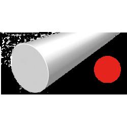 Hilo corte redondo de Nylon Rojo Ø 2,7 mm x 65 m