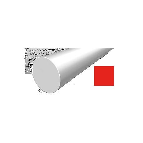 Hilo corte redondo de Nylon Rojo Ø 2,7 mm x 208 m