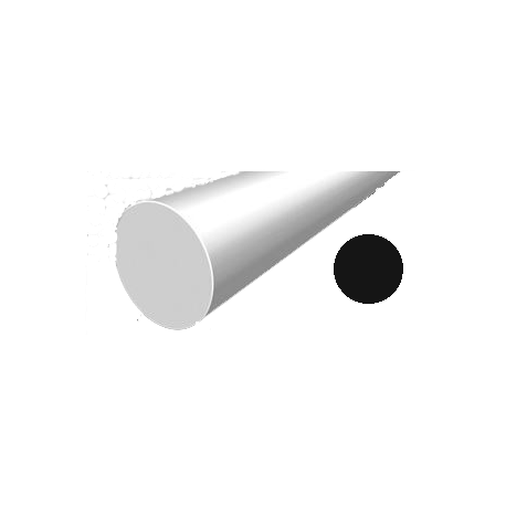 Hilo corte redondo de Nylon Negro Ø 3,3 mm x 6 m