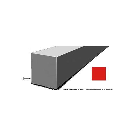 Hilo corte cuadrado Nylon Rojo Ø 2,7 mm x 65 m