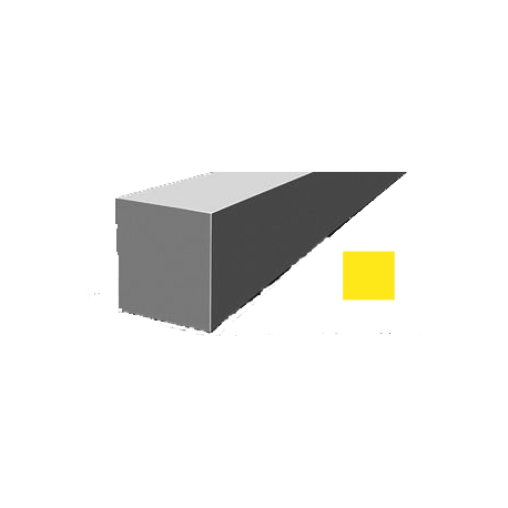 Hilo corte cuadrado Nylon Amarillo Ø 3,0 mm x 53 m