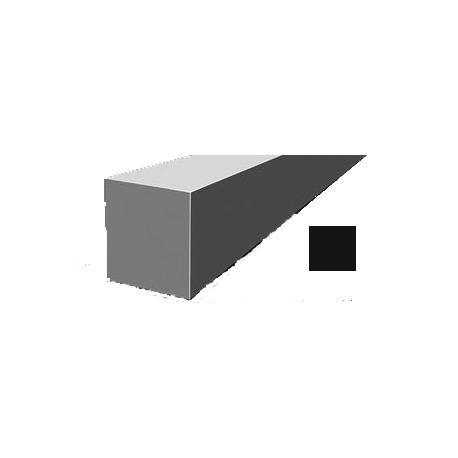 Hilo corte cuadrado Nylon Negro Ø 3,3 mm x 137 m