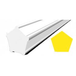 Hilo corte 5 cantos Pentagonal Amarillo Ø 3,0 mm x 58 m