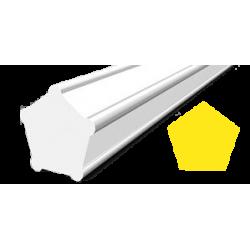 Hilo corte 5 cantos Pentagonal Negro Ø 3,0 mm x 339 m