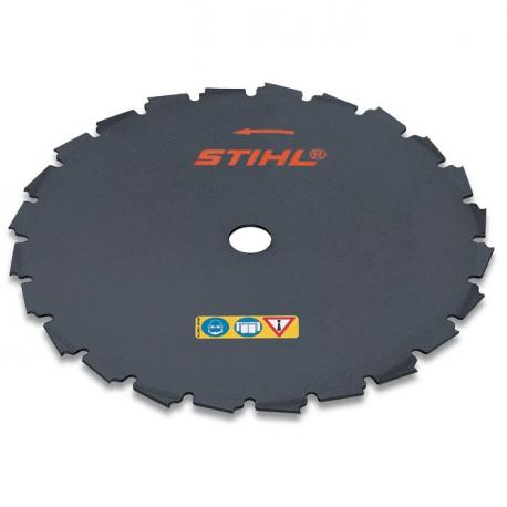 Sierra cincel 225 mm 24 Dientes 225-24 (20 mm)