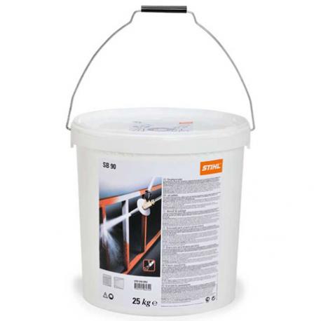 Granulado para chorro de arena SB 90 25 KG envase PVC