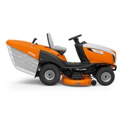 RT 6112 ZL Tractor Cortacésped STIHL + Recogedor Corte 110cm