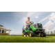 Tractor Cortacésped John Deere X166R 107cm Corte y Recogedor