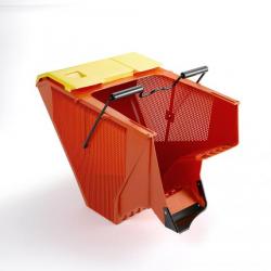 TU51O Recogedor hierba 72 litros - para cortacéspedes 51 cm