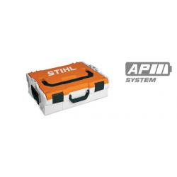 Maletín Caja Dura para Baterías de Tamaño S gris y naranja
