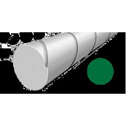 Hilo corte redondo silencioso de Nylon Verde Ø 4,0 mm x 27 m