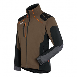 Chaqueta ADVANCE X-Shell Talla XL turba
