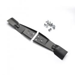 """MC85MN 3 cuchillas con aletas """"mulching"""" A80KM OutilsWolf"""