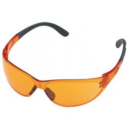 Gafas de protección DYNAMIC Contrast lente Naranja