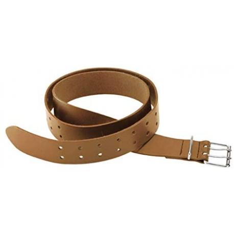 Cinturón de cuero para herramientas marrón 125 cm