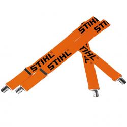 Tirantes elásticos para pantalones 110 cm con clip metálico