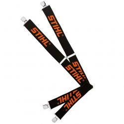 Tirantes elásticos para pantalones 130 cm con clip metálicos