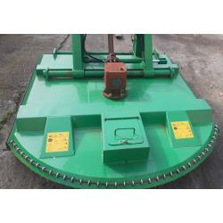 Desbrozadora de cadenas de Tractor Desplazable Corte 160 cm
