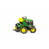 Tractor Cortacésped John Deere Mulching X167 122 cm de Corte