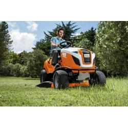 RT 4097 SX Tractor Cortacésped STIHL + Recogedor Corte 95cm