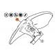 Protector desbrozadora Stihl para cuchilla de trituras FS260, fs360, FS410, FS+460, FS490